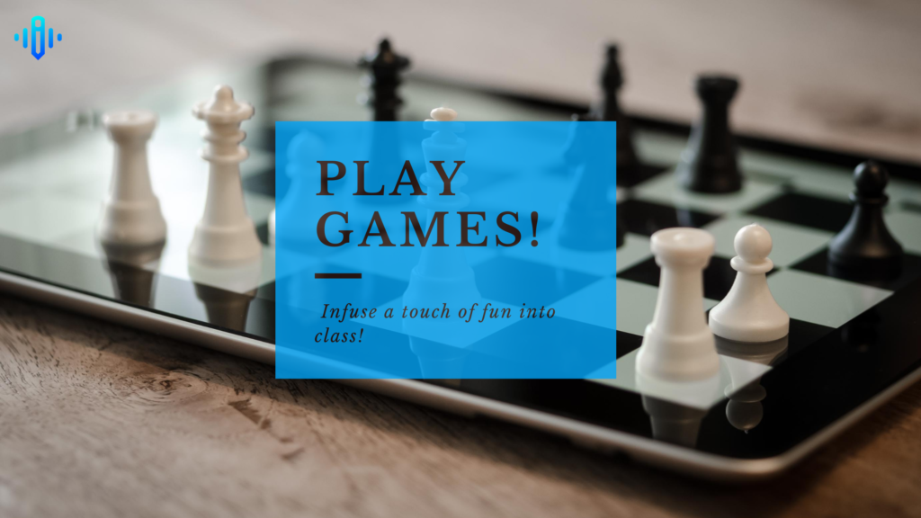 play games in online classes