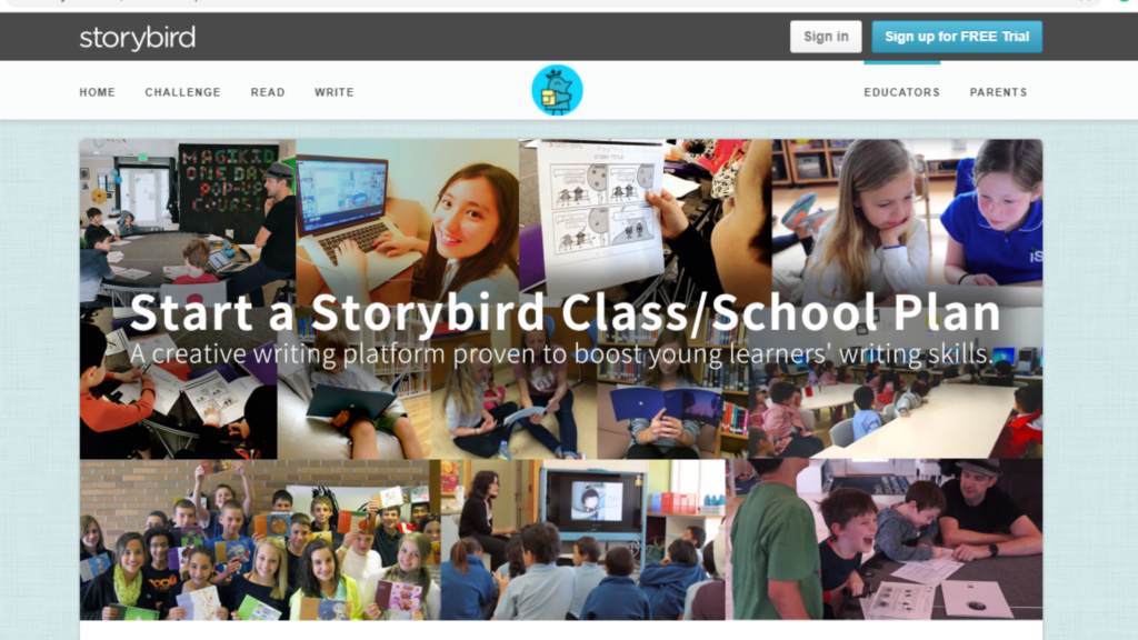 Storybird- A tool to organise learning
